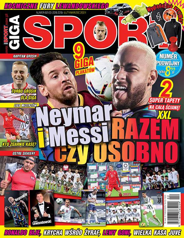 Okładka Giga Sport 02-03/2021